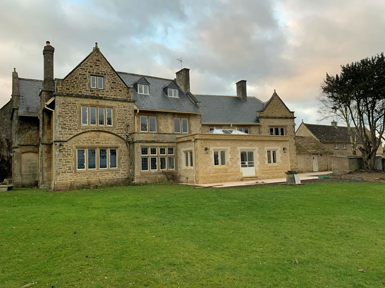 Manor House Refurbishment to Include New Windows, Roof and Garden Room Extension